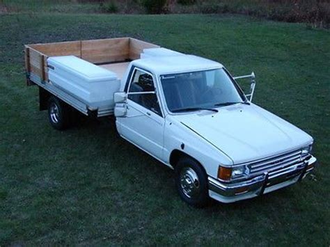 toyota other standard cab dually flatbed 1987