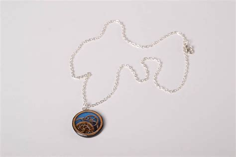 decoupage jewelry ideas madeheart gt handmade plastic pendant necklace decoupage