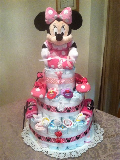 Minnie Mouse Baby Shower Cake by Minnie Mouse Cake Minnie Mouse Baby Shower
