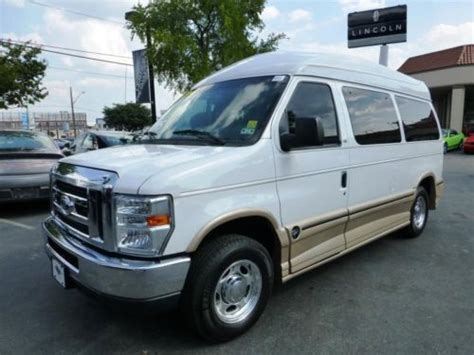 how cars run 1999 ford econoline e350 navigation system buy used 2011 ford e150 tuscany luxury conversion van low miles nav tv dvd cam finance tx in san