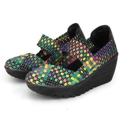 swing shoes elastic belt woven swing shoes sport sandals shoes