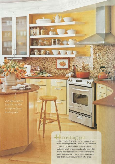 backsplash for yellow kitchen yellow kitchens yellow walls and brown tile bathrooms on