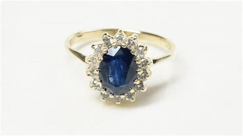 Blue Sapphire 9 1ct ring with sapphire blue sapphire 1 ct blue