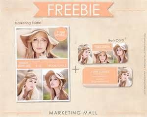 Free Photography Advertising Templates by Free Senior Rep Card Template And Marketing Board Free