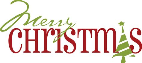 merry christmas words library vector clipart photo