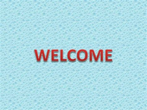 Welcome Sajinii Ppt Welcome Slide For Ppt
