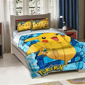 Single Duvet Cover Kids Bedroom Decor Ideas And Designs Pokemon Themed Bedroom