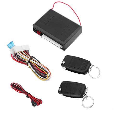 Alarm Mobil Universal Automotif universal car alarm systems 12v auto remote central kit door lock locking vehicle keyless entry