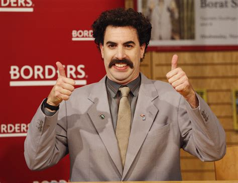 Borat A by Movember Mustaches 171 Cbs Boston