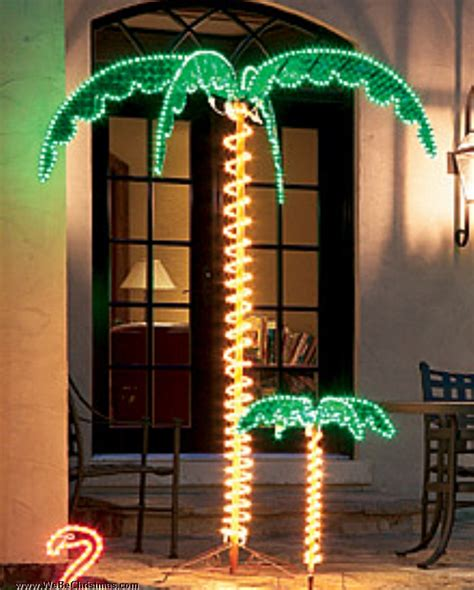 4 5 ft palm tree led rope light