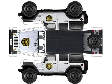 Paper Craft Museum - jeep papercraft museum