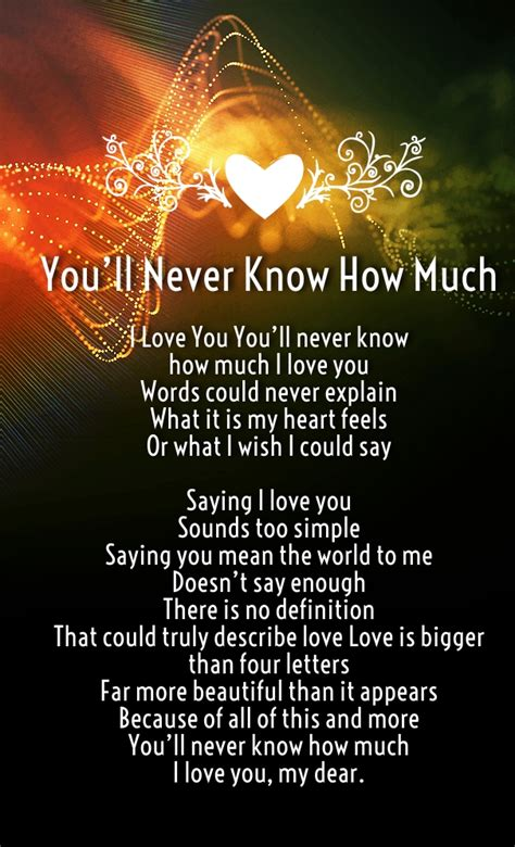 i miss you so much love poems from the heart i love you so much poems for him and her with images
