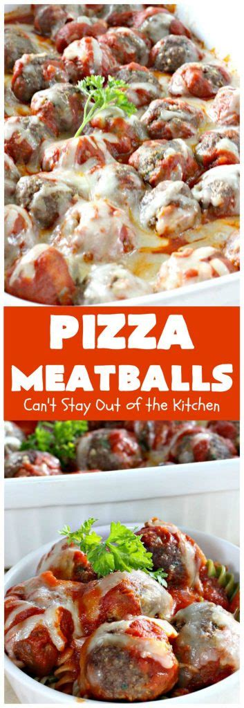 T S Pizza Kitchen by Pizza Meatballs Can T Stay Out Of The Kitchen