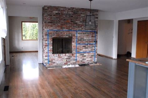 Renovating Brick Fireplace by Brick Fireplace Renovation For The Home