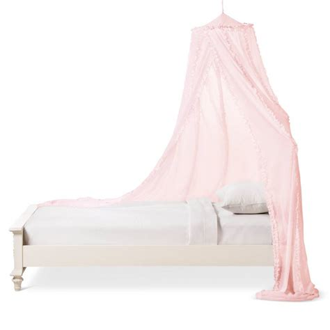 ruffle canopy simply shabby chic homes furniture ideas