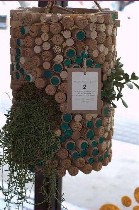 wine cork planters corked