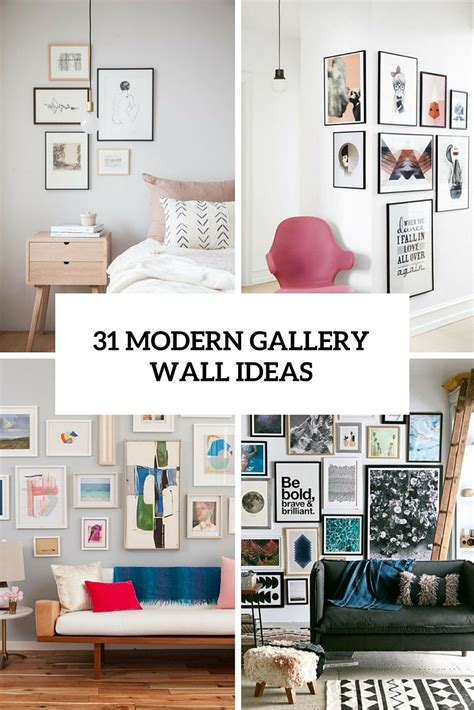 31 modern home decor ideas for 2016 31 modern photo gallery wall ideas shelterness