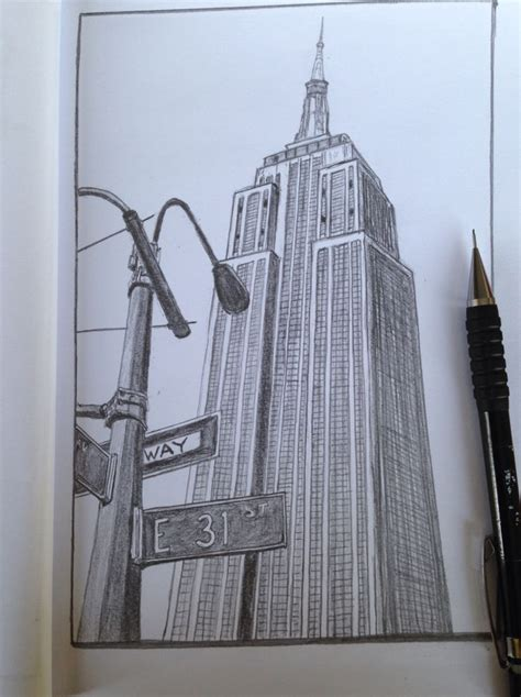 Sketches Nyc by Best 25 New York Drawing Ideas On Nyc Drawing