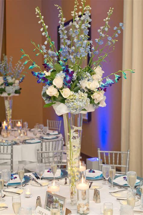 beautiful centerpieces beautiful blue wedding centerpieces ipunya