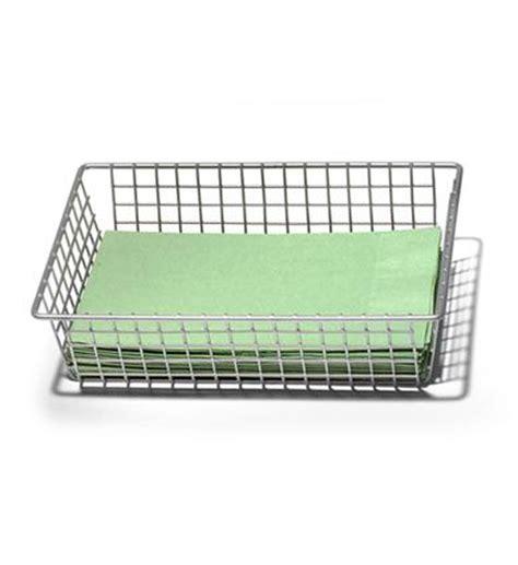 Wire Drawer Storage by 6 X 9 Inch Grid Drawer Organizer Pewter In Wire Baskets