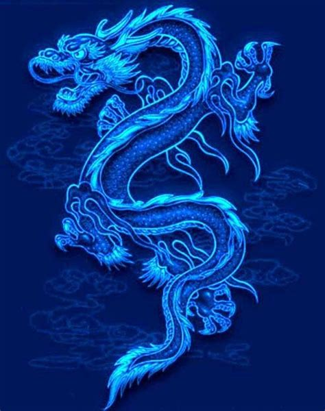 neon dragon tattoo neon blue wallpapers