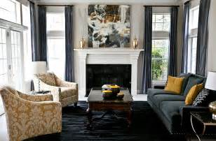 Grey And Gold Curtains Decorating Gray And Yellow Living Rooms Photos Ideas And Inspirations