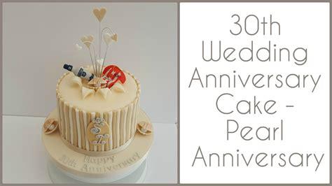 30th Anniversary Wedding by 30th Wedding Anniversary Cake Pearl Anniversary