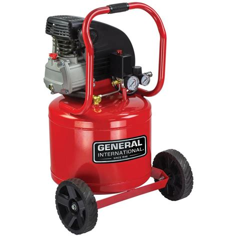 shop general international 11 gallon portable electric vertical air compressor at lowes