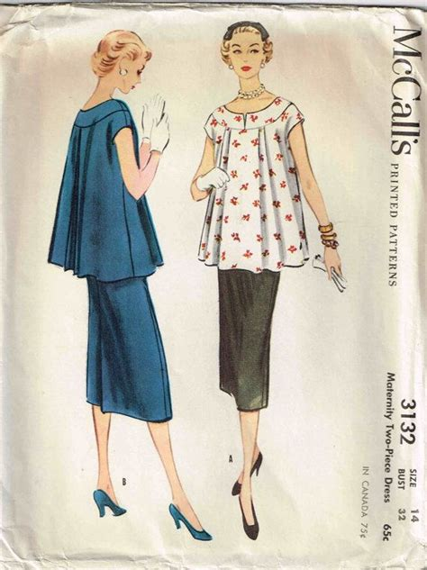 pattern pregnancy clothes 17 best images about vintage maternity fashion on