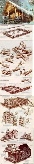 how to build a log cabin from popular mechanics diy
