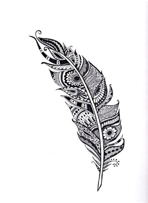 henna tattoo wall art feather illustration henna feather and feather on