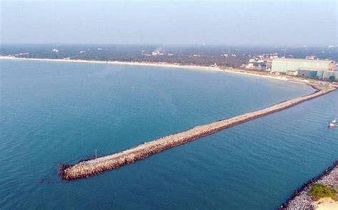 boat club chennai badminton foundation stone laid for sea walkway at malpe mangalore