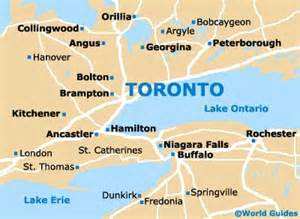 toronto map of canada toronto maps and orientation toronto ontario on canada