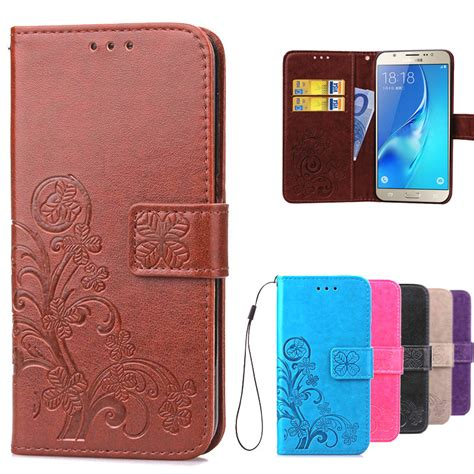 Flip Cover Samsung Galaxy J5 2015 J500 Smart Mirror Transparan ᗖluxury retro leather wallet flip flip cover for coque