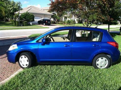 nissan versa blue 2009 purchase used 2009 nissan versa hatchback blue metalic