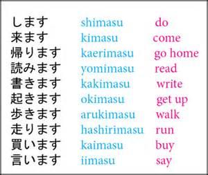 japanese grammar lesson 8 masu verbs punipunijapan