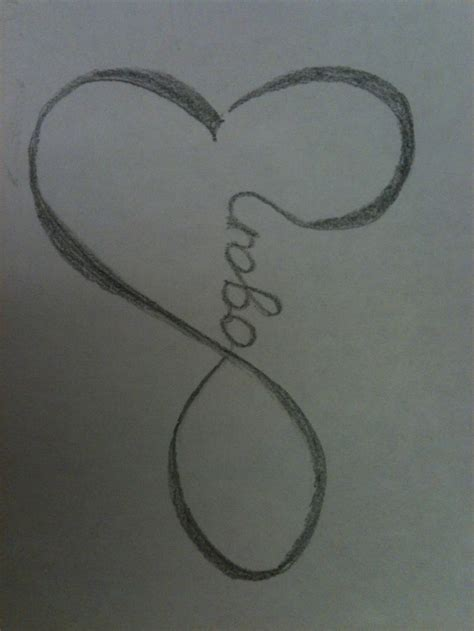 logan tattoo idea for a logan s name my made into a