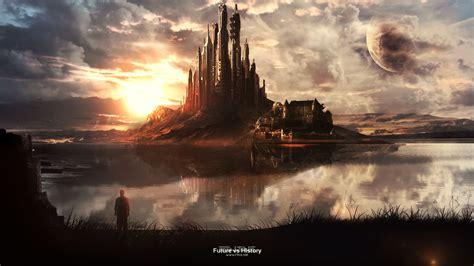 film fantasy welt fantasy world speed painting 6998835