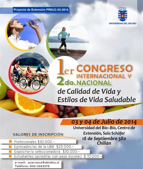 noticias de estilo de vida de venezuela y el mundo chill 225 n i congreso internacional y ii nacional de calidad