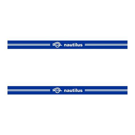 sticker nautilus ref  pour chassis remorque bateau autocollant