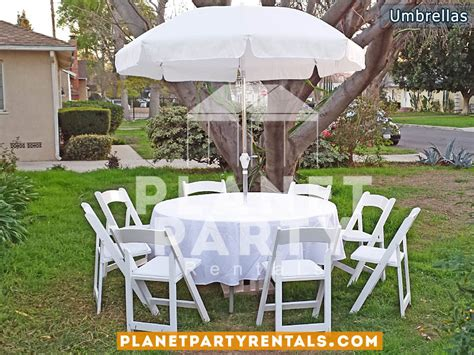white patio table with umbrella patio umbrella
