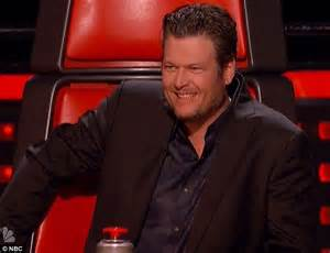 shelton is the best coach on the voice chris martin tells the voice contestant to think about