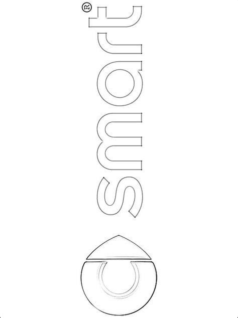 smart car coloring page coloring page smart coloring pages