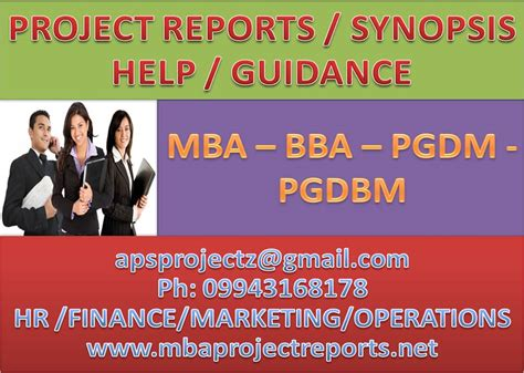 Www Managementparadise Mba Projects by Mba Projects Mba Project Reports Mba Assignments Help
