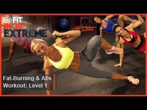 23 minutes burning and abs workout level 1 from befit in 30 is an high