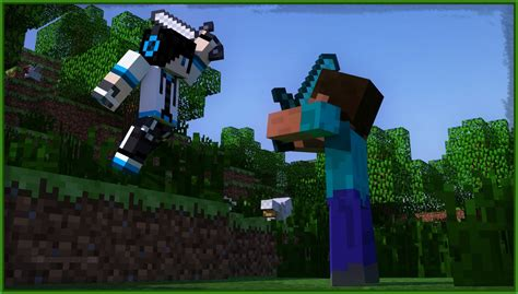imagenes full hd de minecraft como hacer imagenes hd de de minecraft con tu skin youtube