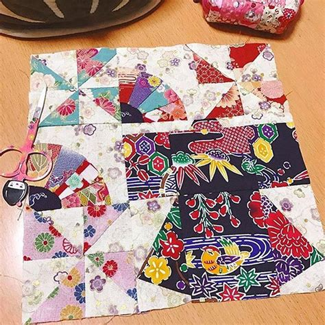 kimono pattern block bhq by you june july 2017 blossom heart quilts
