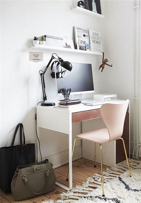 Ikea Small White Desk 12 Creative Workspace Ideas With Micke Desk From Ikea