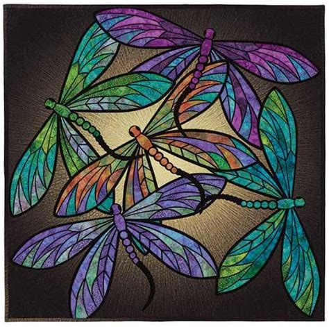 Dragonfly Patterns For Quilting by Of The Dragonflies Quilt Pattern Keepsake Quilting