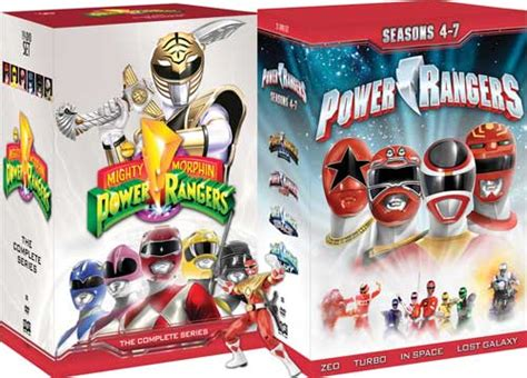 out of space and time volume 1 series 1 mighty morphin power rangers dvd news box for power